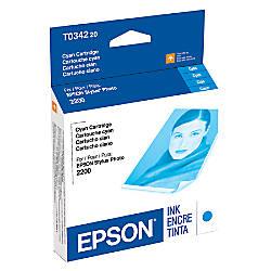 Epson T0342 T034220 UltraChrome Cyan Ink