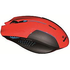 Mibru Nidhogg Ergonomic Computer Gaming Red