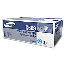 Samsung CLT C609S High Yield Cyan
