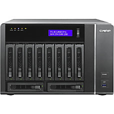 QNAP 10 bay High Performance Unified
