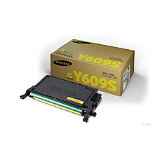 Samsung CLT Y609S High Yield Yellow