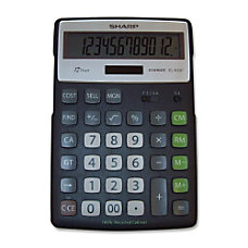 Sharp 12 Digit Executive Eco Calculator
