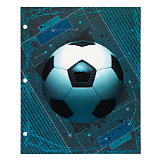 Office Depot Brand Sports Folder Soccer