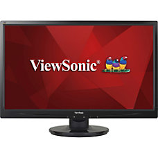 ViewSonic 22 Widescreen LED Monitor VA2246m