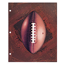 Office Depot Brand Sports Folder Football