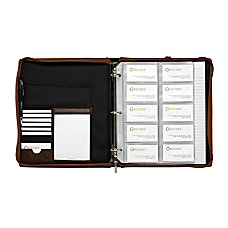 Rolodex Explorer Business Card Case Desk