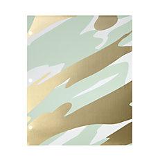 Divoga Gold Struck 2 Pocket Folder