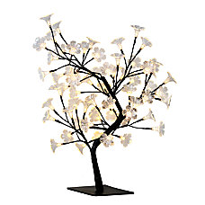 Simple Designs Cherry Blossom Decorative Lighted