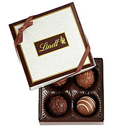 Lindt Chocolate Gourmet Truffles Sampler Box