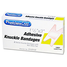 PhysiciansCare Fabric Knuckle Bandages Refill 150