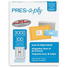 Avery Address Label Permanent Adhesive 1