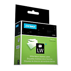 DYMO LabelWriter 30330 White Return Address