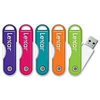 Lexar JumpDrive TwistTurn 32GB USB 2.0 Flash Drive (Assorted Colors)