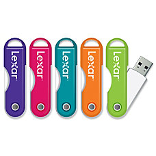Lexar JumpDrive TwistTurn USB Flash Drive