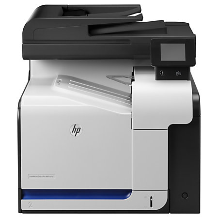 HP LaserJet Pro 500 Color Laser All In One Printer Scanner Copier And Fax M570dn by Office Depot ...