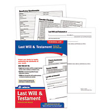Adams Last Will Testament Kit