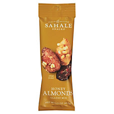 Folgers Sahale Snack Better Honey Almonds