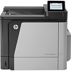 HP LaserJet M651DN Laser Printer Color