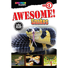 Spectrum Readers Awesome Snakes Reader Ages
