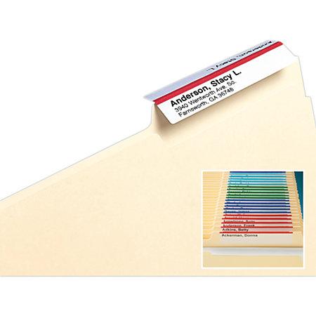 smeadr viewablesr labeling system for file folders With file folder labeling system