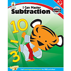 Carson Dellosa I Can Master Subtraction