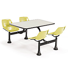 OFM Cluster Table And 4 Chair