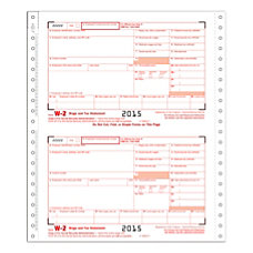 ComplyRight Tax Forms W 2 Continuous