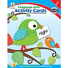 Carson Dellosa Language Arts Activity Cards