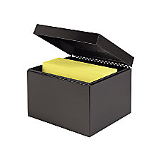MMF Card File Box External Dimensions