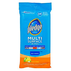 Pledge Multi Surface Clean Dust Wipes