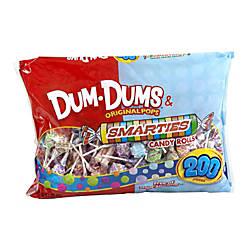 Spangler Dum Dums And Smarties Mix