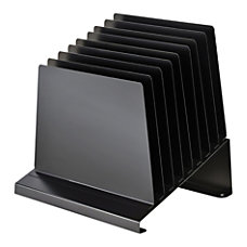 MMF Industries Slanted Vertical Organizer 8