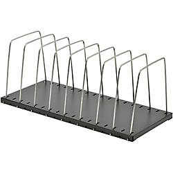 STEELMASTER Wire Desk Organizer Black