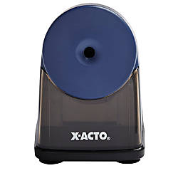 X ACTO Powerhouse Electric Pencil Sharpener Blue by Office ... X Acto Electric Pencil Sharpener