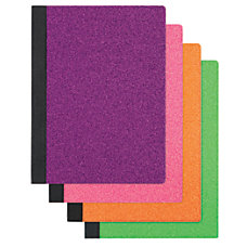 Office Depot Glitter Composition Book 7