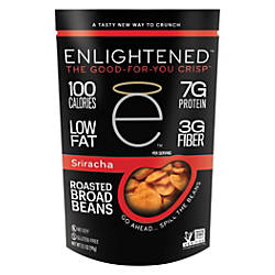 Enlightened Broad Bean Crisps Sriracha 35