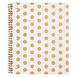 Divoga Black Gold Spiral Notebook 8