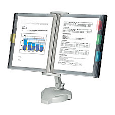 Fellowes Desktop Reference Rack Platinum