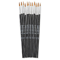 CLI Water Color Pointed Brushes No