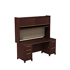 Bush Business Furniture Enterprise Double Pedestal
