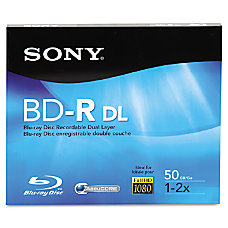 Sony 2x BD R Dual Layer