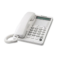 Panasonic KX TS108W Standard Phone White