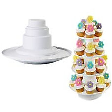 Wilton Stacked 4 Tier Cupcake and