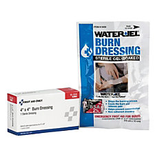 First Aid Only WaterJel Burn Dressing