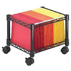 Safco Mobile Wire Mini File Cart