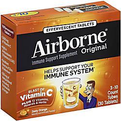 Airborne Orng Effervsct Tablets Citrus 2160