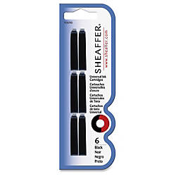 Sheaffer Universal Ink Cartridges Black Ink