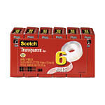 Scotch Transparent Tape 1 Core 34