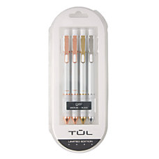 TUL Pearl Retractable Gel Pens Medium