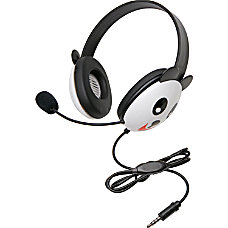 Califone Stereo Headset Panda w Mic